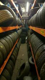 Partworn winter tyres