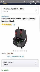 Mad Catz rat 8 pc mouse