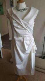 beautiful satin dress
