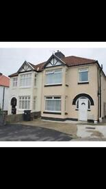 Stunning large 3 bed semi detached house with driveway