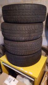 4 tyres 225x60x17 Winter