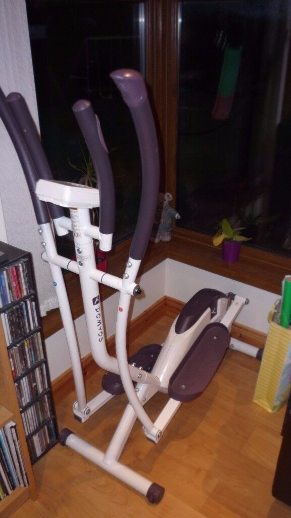 as new,great cross trainer (domyos)