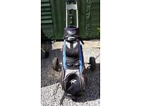 Golf Trolley and Bag for Sale