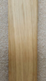 Solid Oak Parquet Flooring - Unfinished 15ft x 12ft BARGAIN !!! Plus Underlay RRP OVER £1200
