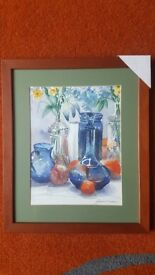 Still life Watercolour Framed Painting