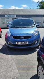 2013 KIA VENGA IN IMMACULATE CONDITION WITH ONLY 8,650 GENIUNE MILES ON THE CLOCK