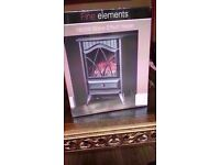 Fine elements stove effect heater 1850w