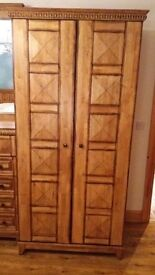 Set of Wardrobes, Dresser and two Bedside Tables ( American Walnut)