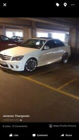 RIMS and TYRES for Mercedes C63 AMG