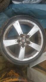 Mazda rx8/lexus alloy wheels