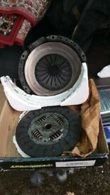 Ford transit 1997 2.5 diesel 2 peice clutch kit