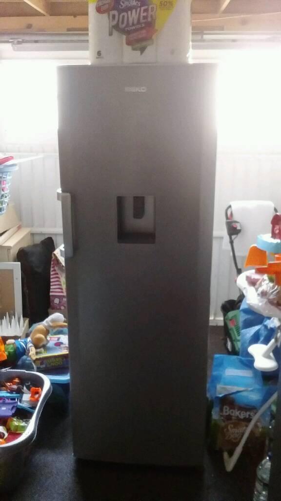Beko fridge with drink dispenser