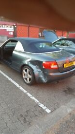 AUDI A4 CABRIOLET BREAKING!!!!! 1.8T BLUE ROOF!