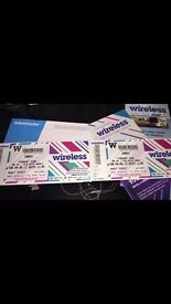 Wireless tickets for sale