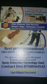 Full house cleaning and carpet cleaning services