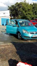 Vauxhall Zafira 06 plate 7 seater