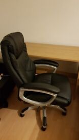 X-Rocker Executive Height Adjustable Office Chair in Black