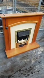 Designer electric fireplace very good condition