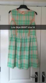 Size 14 Lola Skye dress bnwt