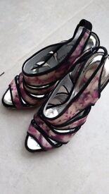 Karen Millen Ladies Heels Size UK 4