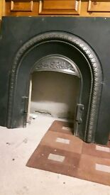 Iron Insert for Fireplace