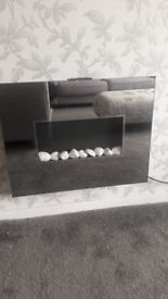 Led electric fire great condition fully working comes with remote