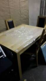 New Oak Extendable DINING TABLE £150
