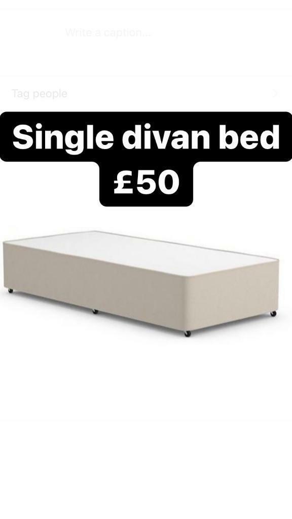 Picture of: Single Divan Bed In Nechells West Midlands Gumtree