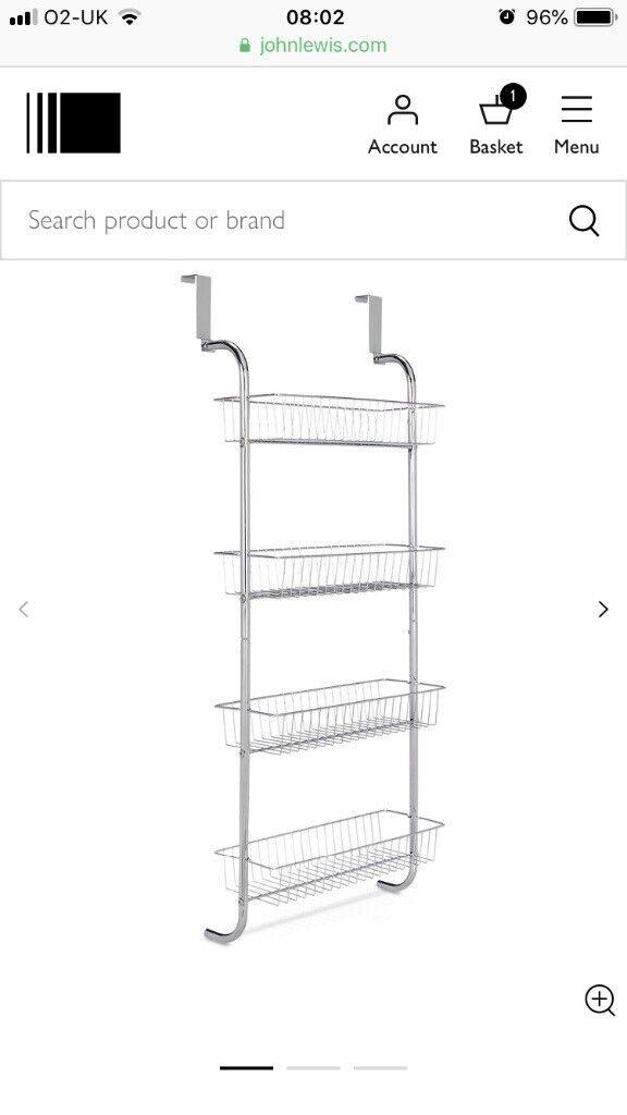 Groovy John Lewis Storage Rack For Ladder Or Bathroom Or Bedroom Doors In Tooting Broadway London Gumtree Download Free Architecture Designs Griteanizatbritishbridgeorg