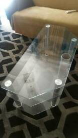 Tv stand-Glass