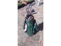 Mixed second hand golf set