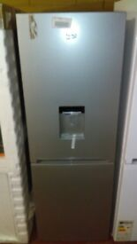 BEKO Frost free silver Fridge Freezer new Ex display