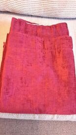 Cottage style, Montgomery curtains unused 45/54 long matching items listed seperatly