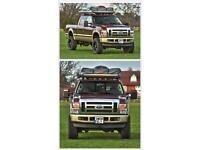 Ford F-250 Super Duty Lariat camper truck 4x4 V8 power stroke left hand drive Lhd diesel biturbo