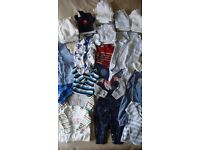 BOYS CLOTHES BIRTH - THREE MONTHS
