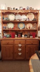 Solid Pine Dresser in good condition.