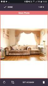Laurence Llewellyn Bowen 3 seater sofa & chair