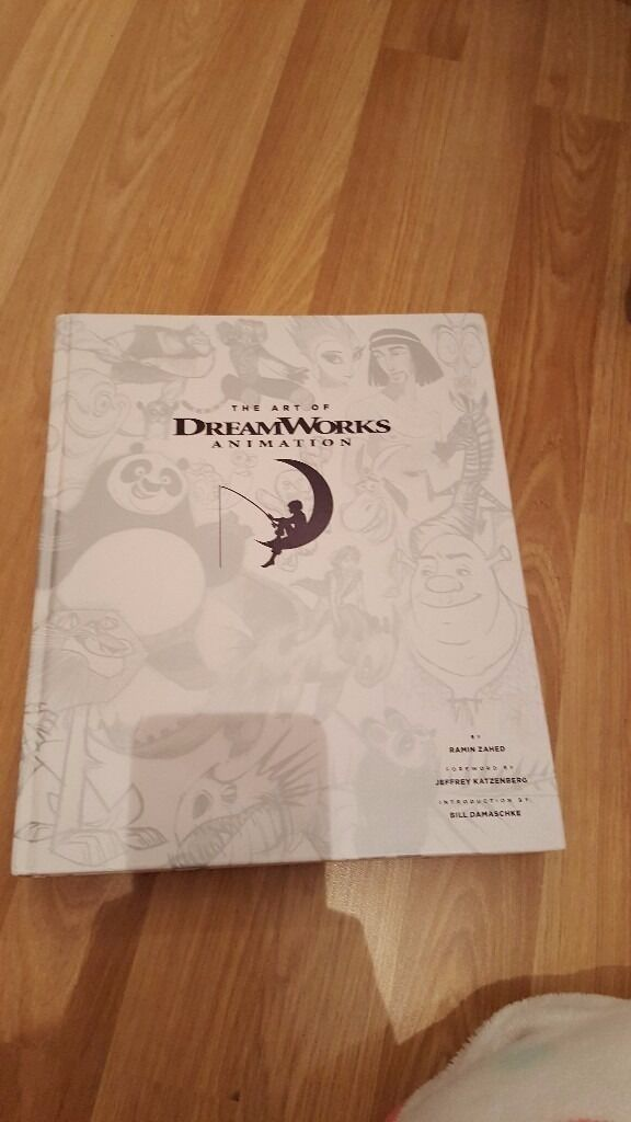 The Art of DreamWorks Animation Book