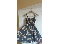 Kim Chi Blue and Miss Selfridge dresses size 6/8.