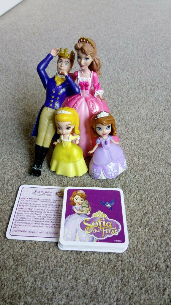 Sofia the first character set