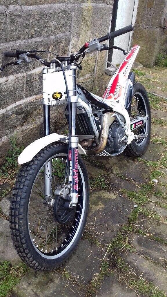 Beta evo 2T road registered trials bike
