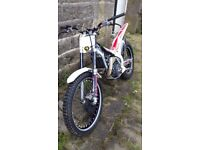 Beta evo 2T road registered trials bike