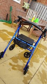 Wheeled rollator/Zimmer for sale
