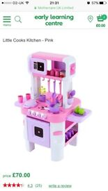 ELC Toy Kitchen Pink/Purple Used