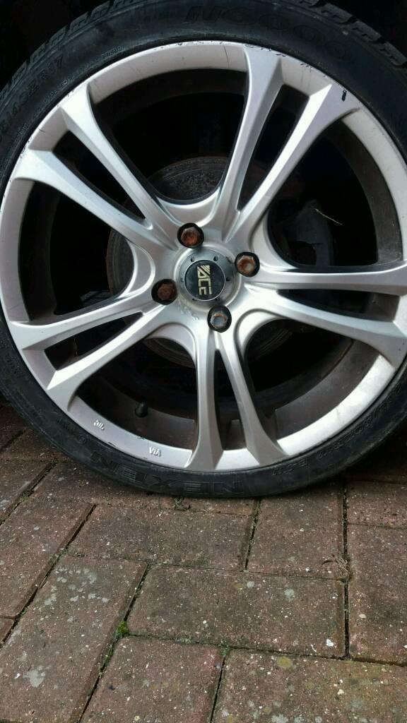 Honda civic wheel and tyres