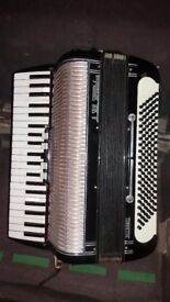 Accordion, Vintage 120 Bass Soprani Recanati*****itali