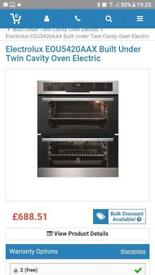 Brand new oven boxed