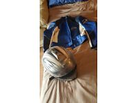 Jacket + Helmet for sale
