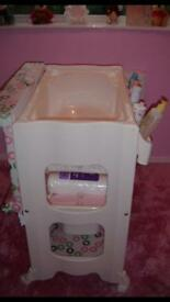 Nappy changing station