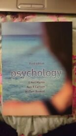 3rd edition psychology textbook